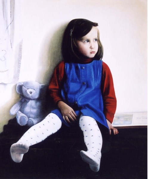 Oil on Canvas, 28' x 32'